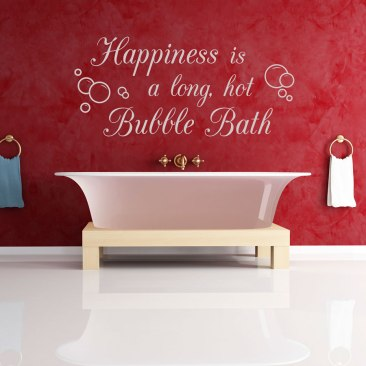 Happiness-is-a-long-hot-bubble-bath